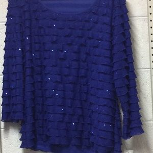 NWT Notations dressy top